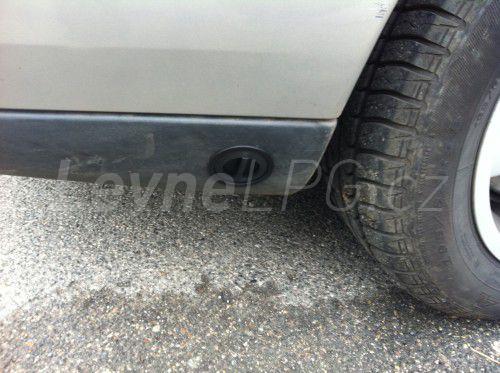 Volvo S60 2.4 LPG - Plnění