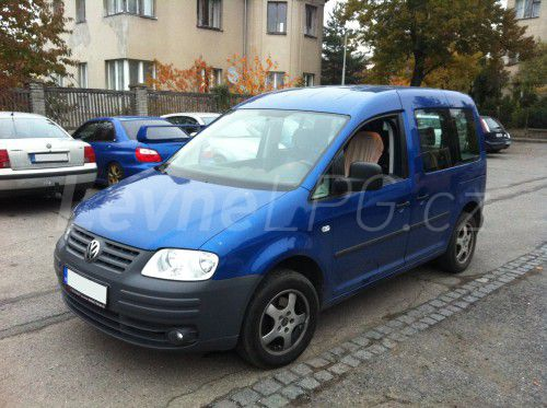 Volkswagen Caddy 1.6 LPG - Přestavba