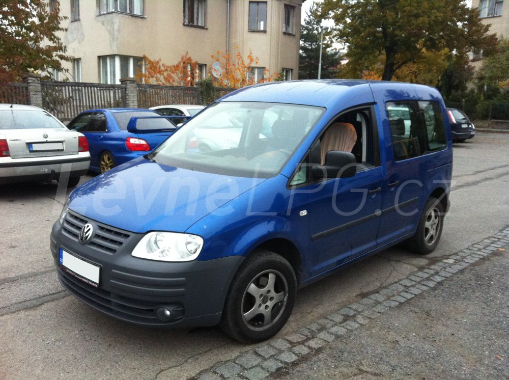 VW Caddy 1.6 - LPG 1