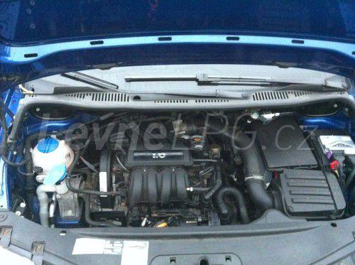 Volkswagen Caddy 1.6 LPG - Motor