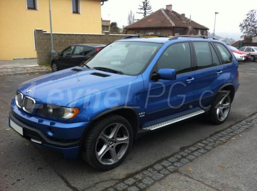 BMW X5 4,4i LPG - Přestavba