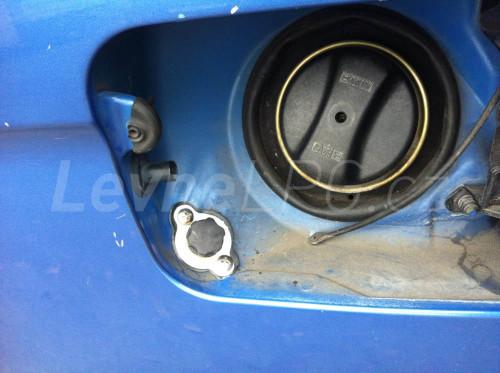 BMW X5 4,4i LPG - Plnění