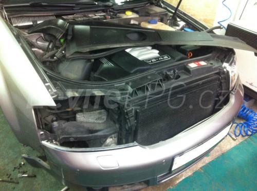 Audi A6 4.2 C5 LPG montáž 2