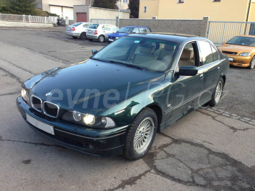BMW 540 E39 LPG - přestavba