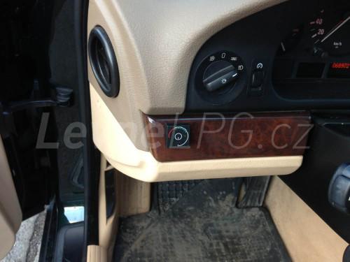BMW 540 E39 LPG - přepínač
