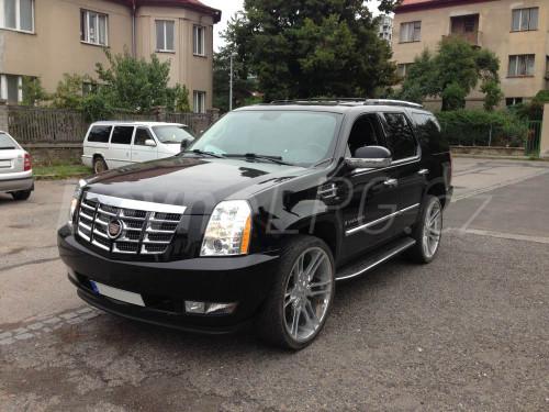 Cadillac Escalade LPG - Přestavba