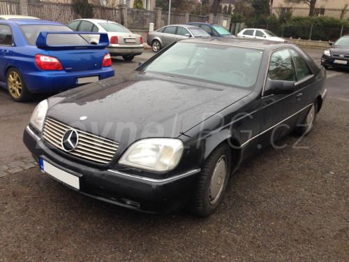 Mercedes CL 500 LPG - Přestavba