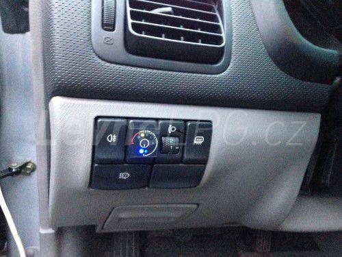 Subaru Forester 2.0 LPG - Přepínač