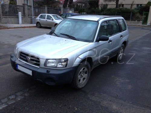 Subaru Forester 2.0 LPG - Přestavba