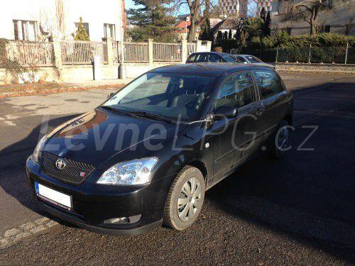 Toyota Corolla 1.8 LPG - Přestavba