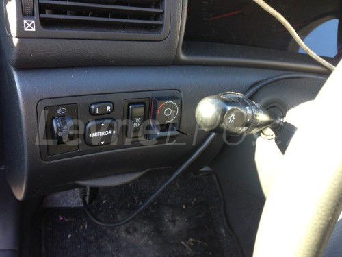 Toyota Corolla 1.8 LPG - Přepínač