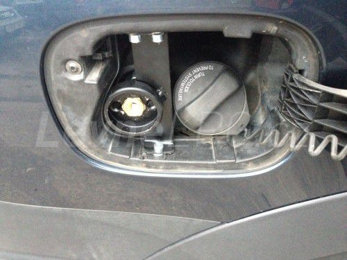Volvo XC70 3.2 LPG - Plnění