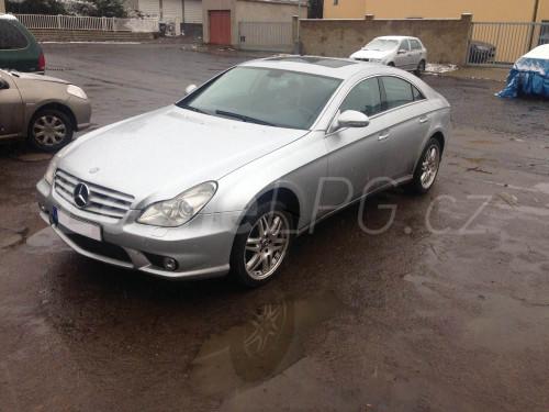Mercedes CLS 500 LPG - Přestavba