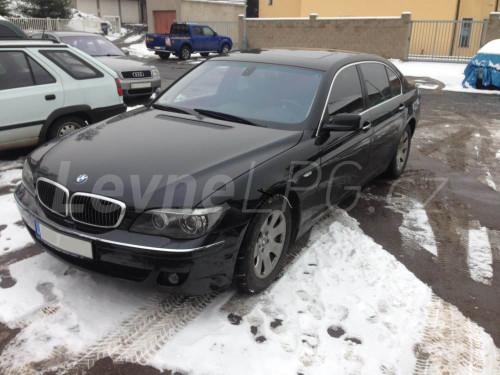 BMW 750 E65 LPG - Přestavba