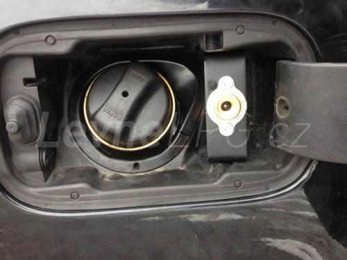 BMW 750 E65 LPG - plnění