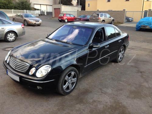Mercedes E500 LPG - Přestavba