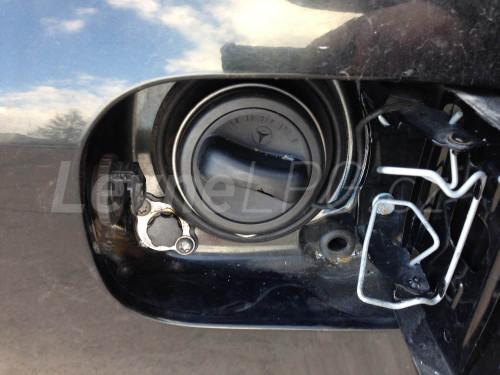 Mercedes E500 LPG - Plnění