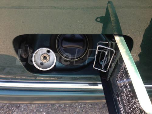Mercedes E320 LPG - Plnění