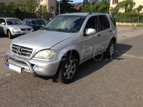 Mercedes ML 430 LPG - Přestavba