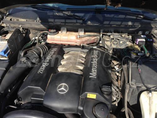 Mercedes ML 430 LPG - Motor