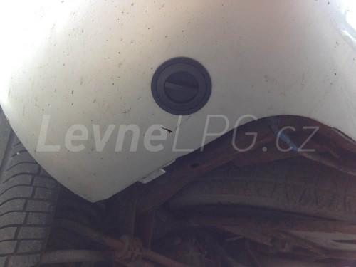 Mercedes ML 430 LPG - Plnění