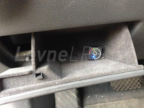 Audi A8 4.2 D3 LPG - přepínač