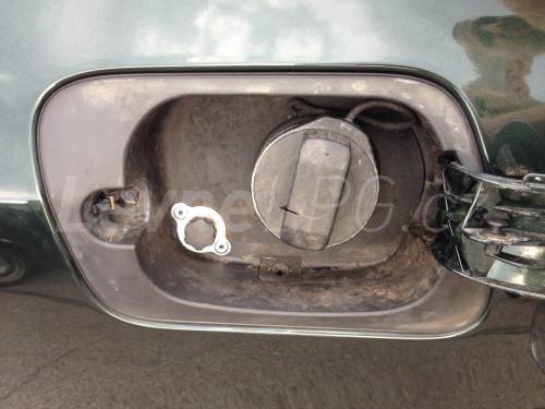 Audi A8 4.2 D3 LPG - plnění