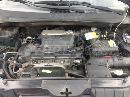 Hyundai Santa Fe 2.4 LPG - Motor