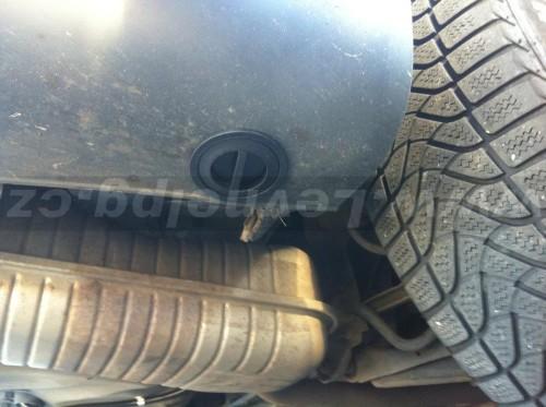 Audi A6 2.8 C5 LPG - plnění
