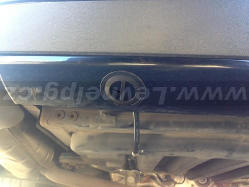 Mercedes Benz CLS LPG plnění