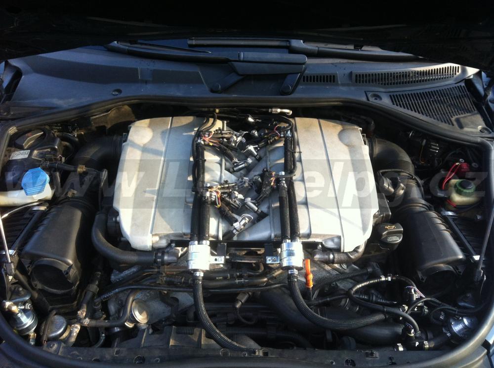 VW Touareg W12 6.0i - LPG 2