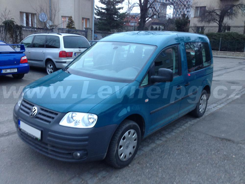 VW Caddy 1.4i (2010) - LPG 1