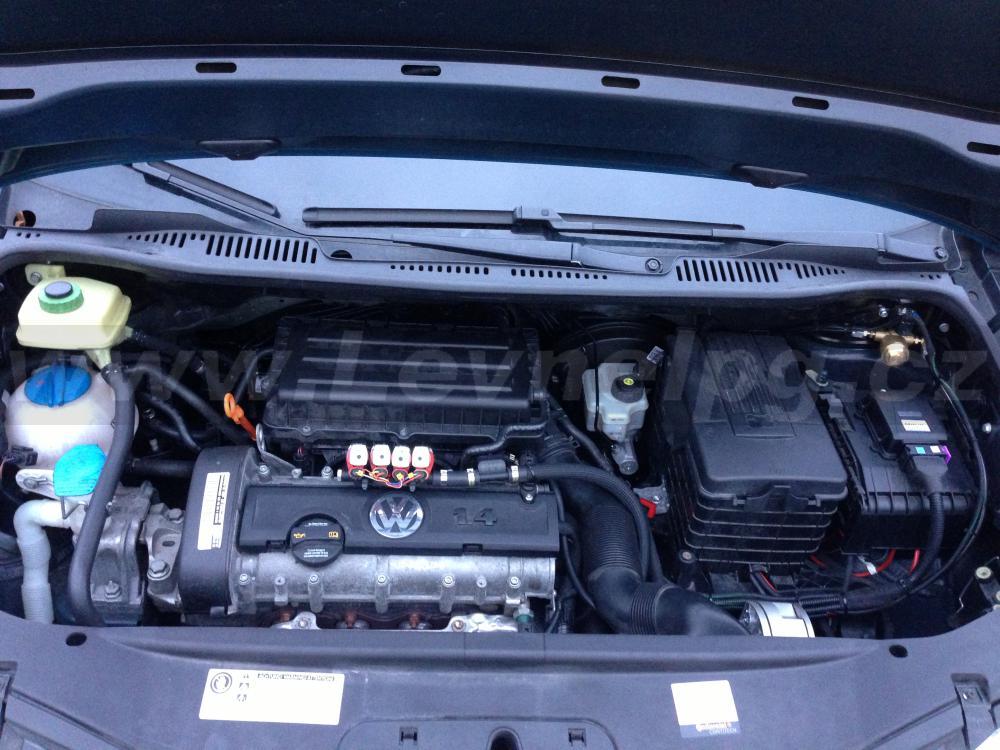 VW Caddy 1.4i (2010) - LPG 2