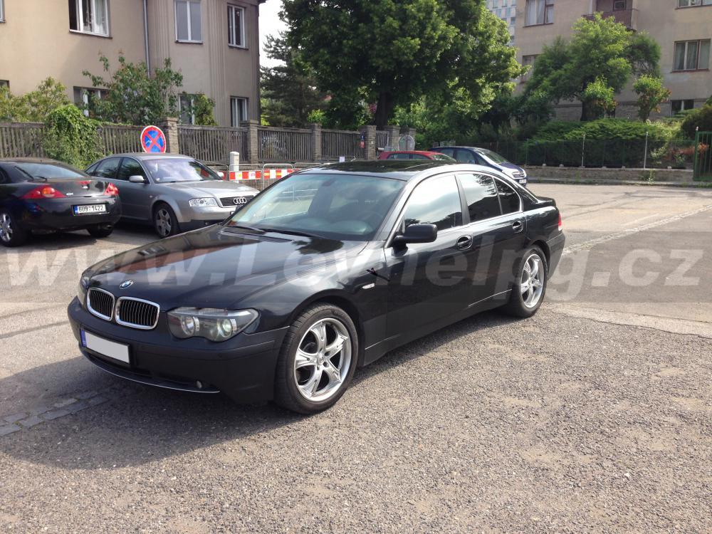 BMW 745i E65 - LPG 1
