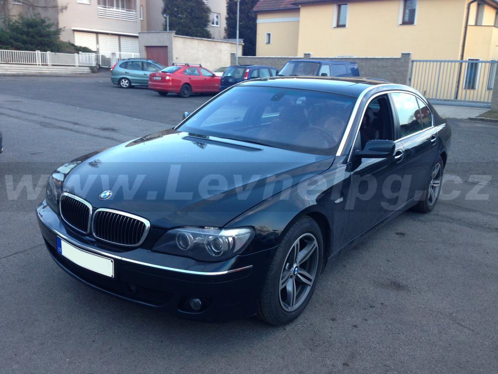 BMW 750i E65 - LPG 1