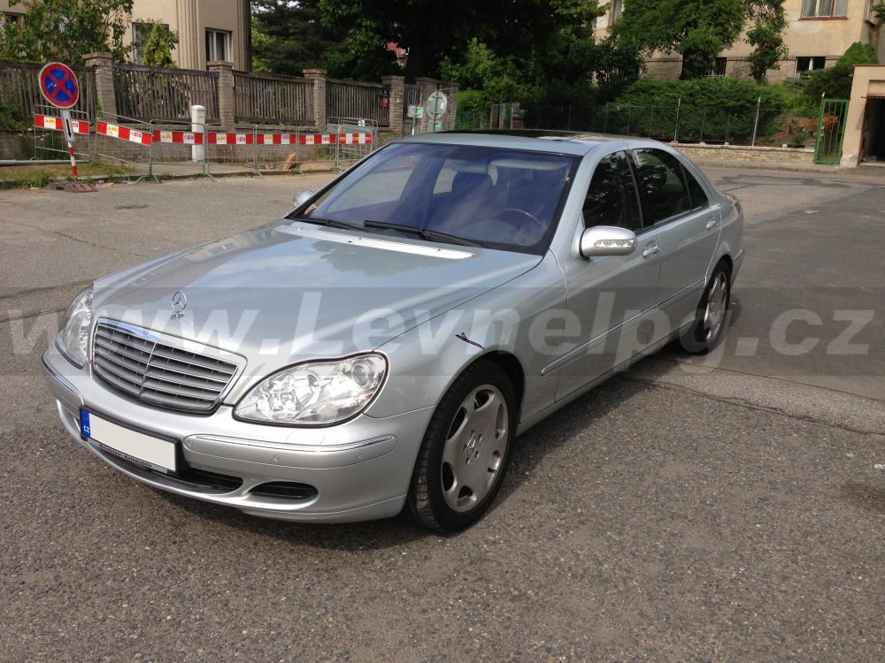 MERCEDES-BENZ S600 V12 Bi-turbo W220 - LPG 1