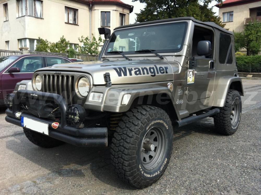 JEEP WRANGLER 4.0 2005 - LPG 1