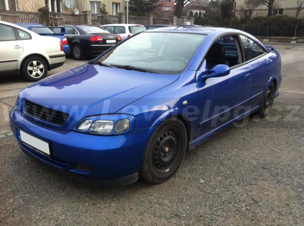 OPEL Astra B coupe 2.2 16v - LPG 1